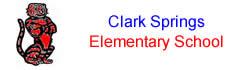 Clark Springs ES Logo